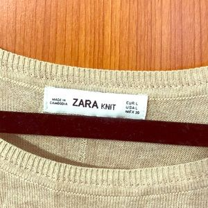 Zara knit too